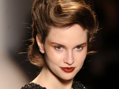 Frisuren von der New York Fashion Week